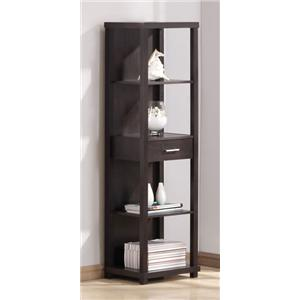 Acme Furniture Hinto Shelf Cabinet W/Drawer