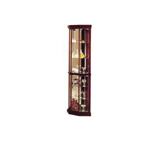 Acme Furniture Martha Glass Corner Cabinet