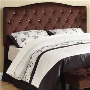 Acme Furniture Ion Suede Queen/Full Headboard