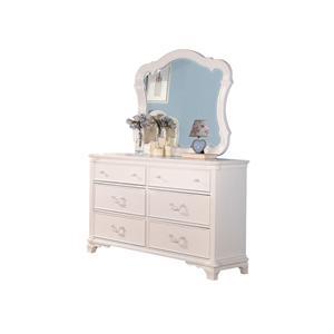 Acme Furniture Ira Dresser and Mirror Combo