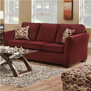 Acme Furniture Jayda Sofa W/Queen Sleeper
