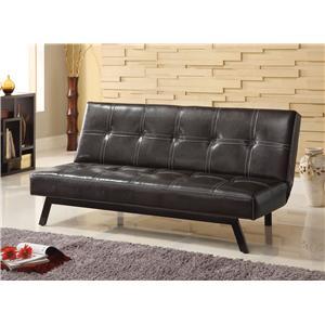 Acme Furniture Kenzi Contemporary Adjustable Sofa