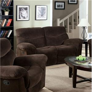 Acme Furniture Loakim Loveseat W/Motion