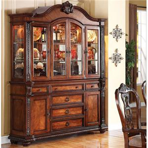Acme Furniture Nathaneal Hutch and Buffet