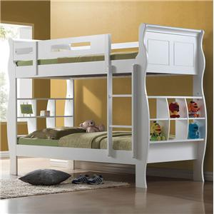Acme Furniture Nebo Twin Over Twin Bunkbed