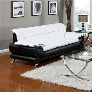Acme Furniture Orel Stationary Sofa
