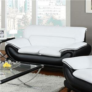 Acme Furniture Orel Stationary Loveseat