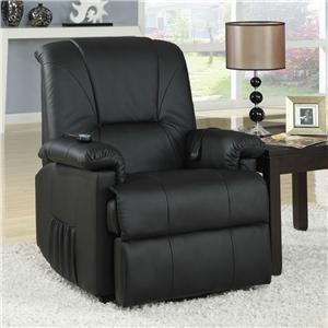 Acme Furniture Reseda Recliner with Massage Functions