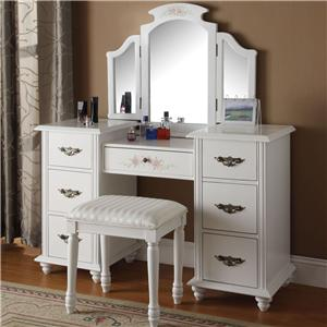 Acme Furniture Torian Vanity Group