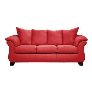 Affordable Furniture Sensations Red Brick Sleeper