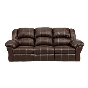 Affordable Furniture 1002 Brandon Brown Reclining Sofa