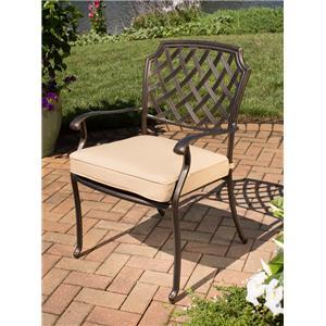Agio Heritage Alumicast Dining Chair