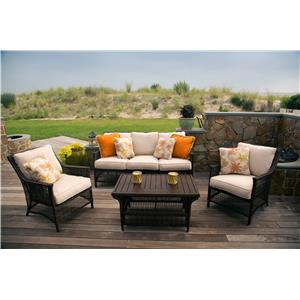 Morris Home Furnishings Rio Rio 4-Piece Outdoor Set
