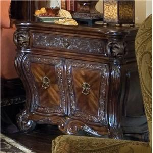 Michael Amini Essex Manor Bedside Chest