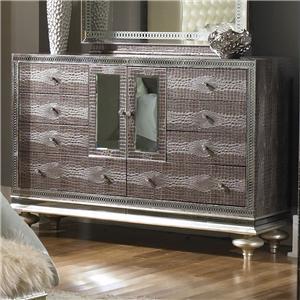 Michael Amini Hollywood Swank Upholstered Dresser