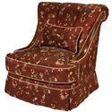 Wood Trim Swivel Chair