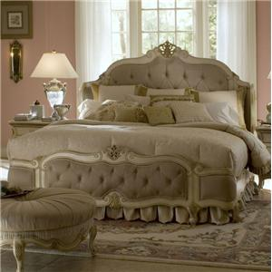 Michael Amini Lavelle Queen Mansion Bed