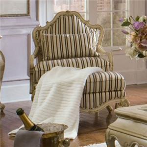Michael Amini Lavelle Chair & Ottoman