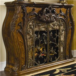 Michael Amini Palais Royale Fireplace
