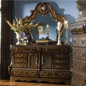 Michael Amini The Sovereign Dresser and Mirror