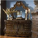 Michael Amini The Sovereign Dresser w/ 2 Doors  - Dresser Shown with Mirror