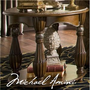 Michael Amini The Sovereign Round End Table
