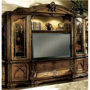 Michael Amini Tuscano 4 Piece Entertainment Unit