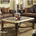 Michael Amini Tuscano Rectangular Cocktail Table - Item Number: 34201-26