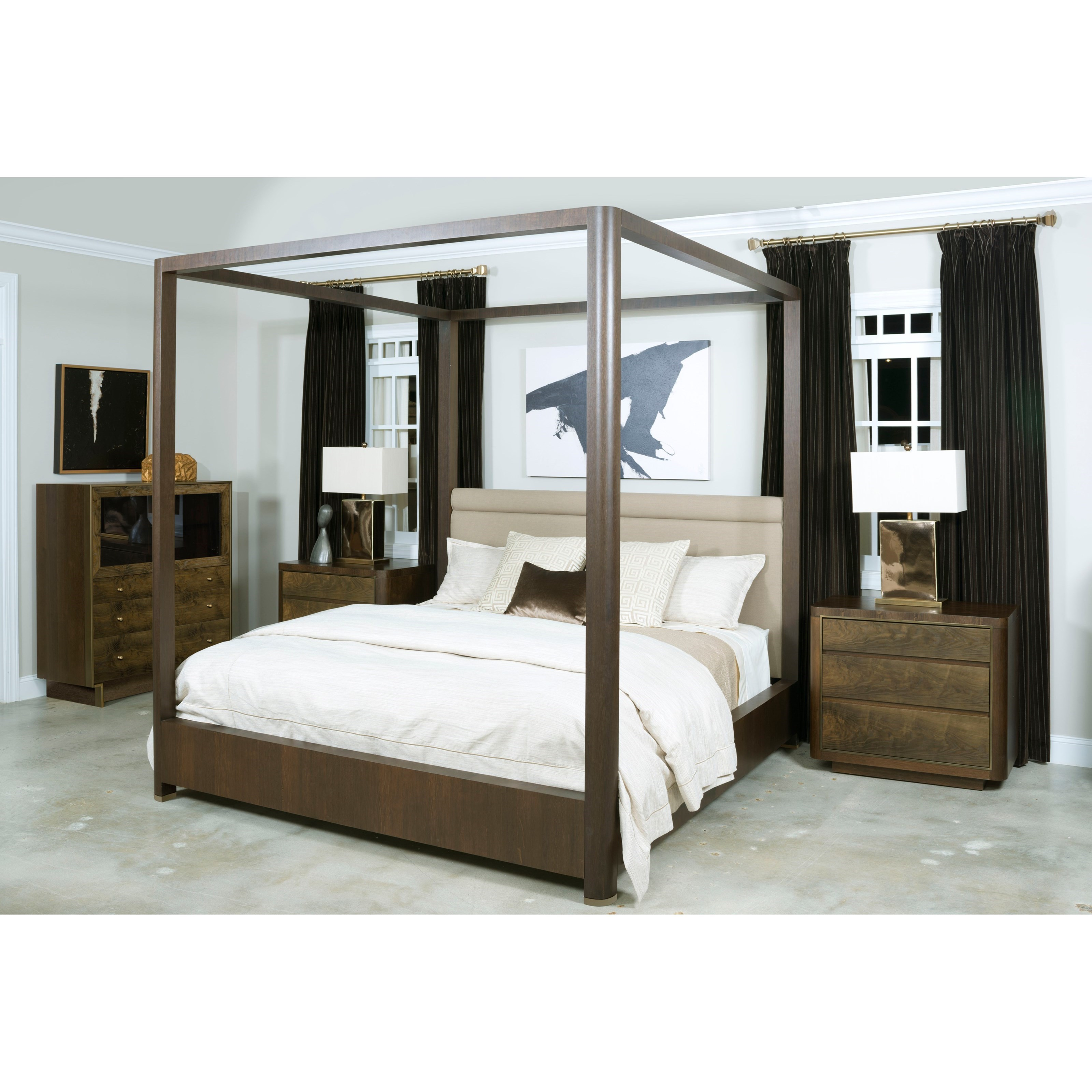 King Fremont Canopy Bed By American Drew Wolf And Gardiner Wolf Furniture