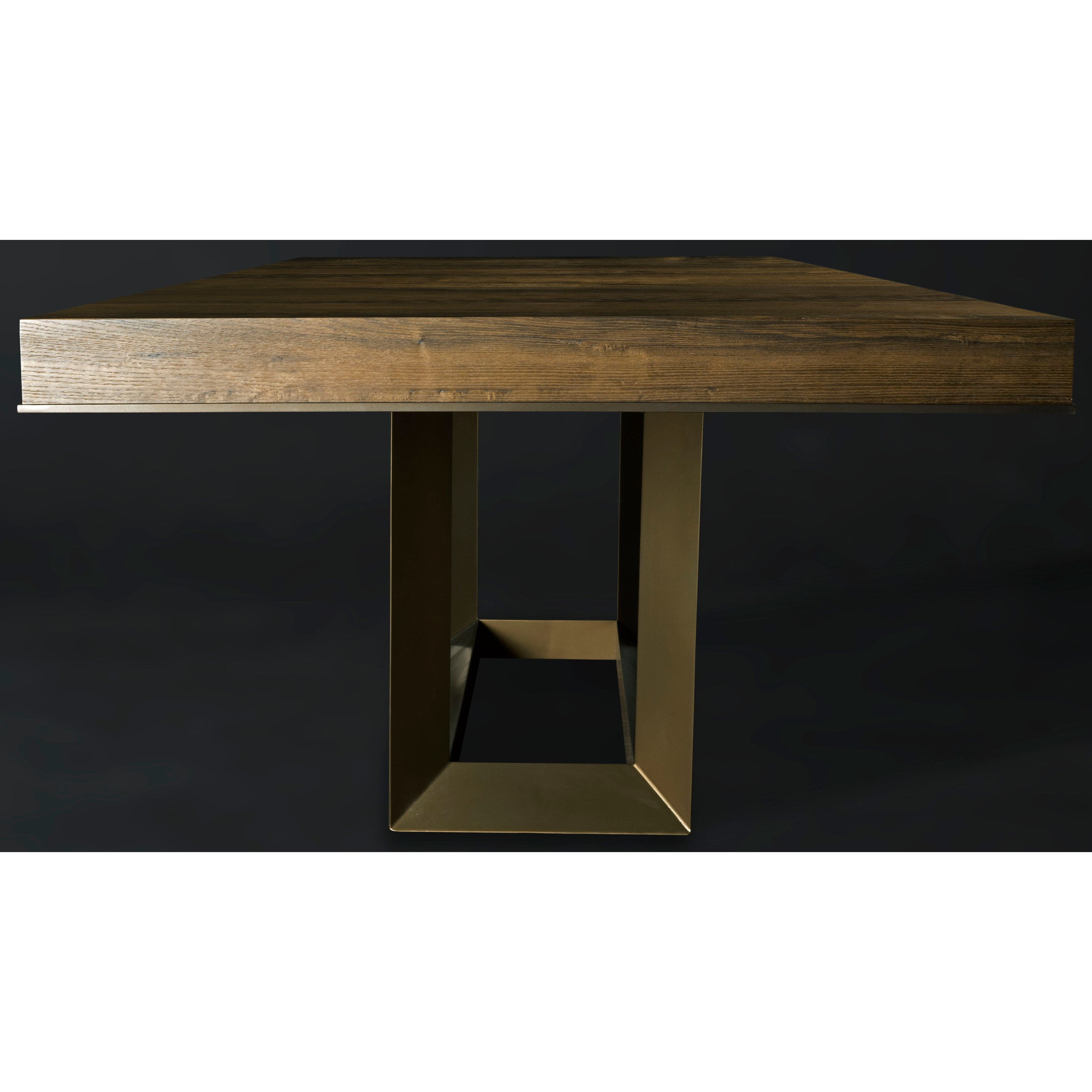 """Bandon Rectangular Dining Table with Two 20"""" Leaves by American"""