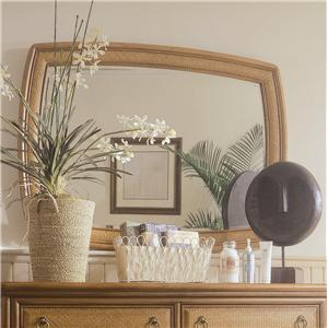 American Drew Antigua Accent Landscape Mirror