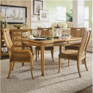 American Drew Antigua 5 Piece Dining Table