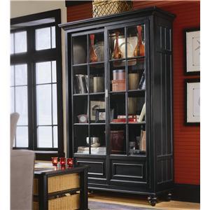American Drew Camden - Dark Bookcase/China