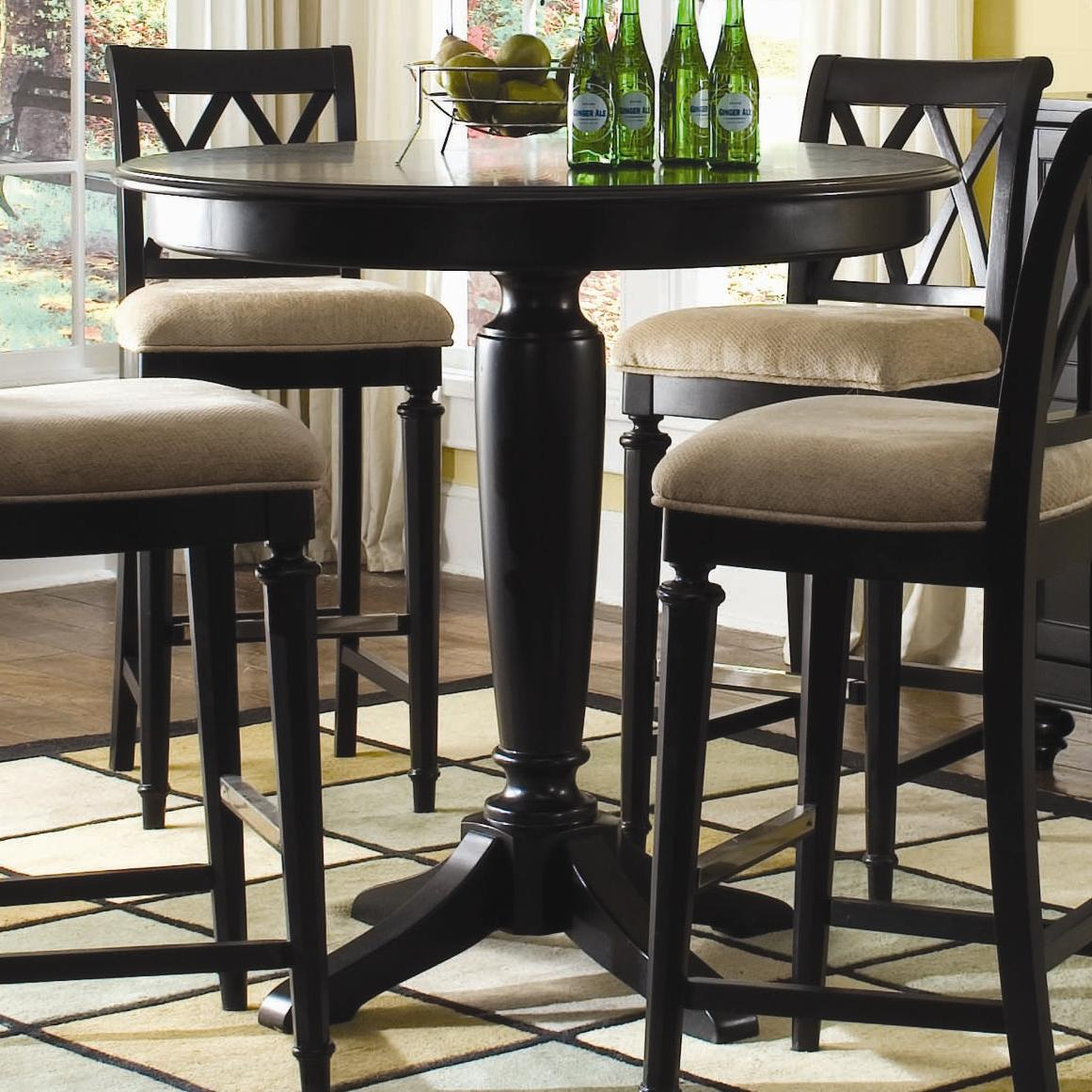42 round bar height table - Kitchen Table With Bar Stools