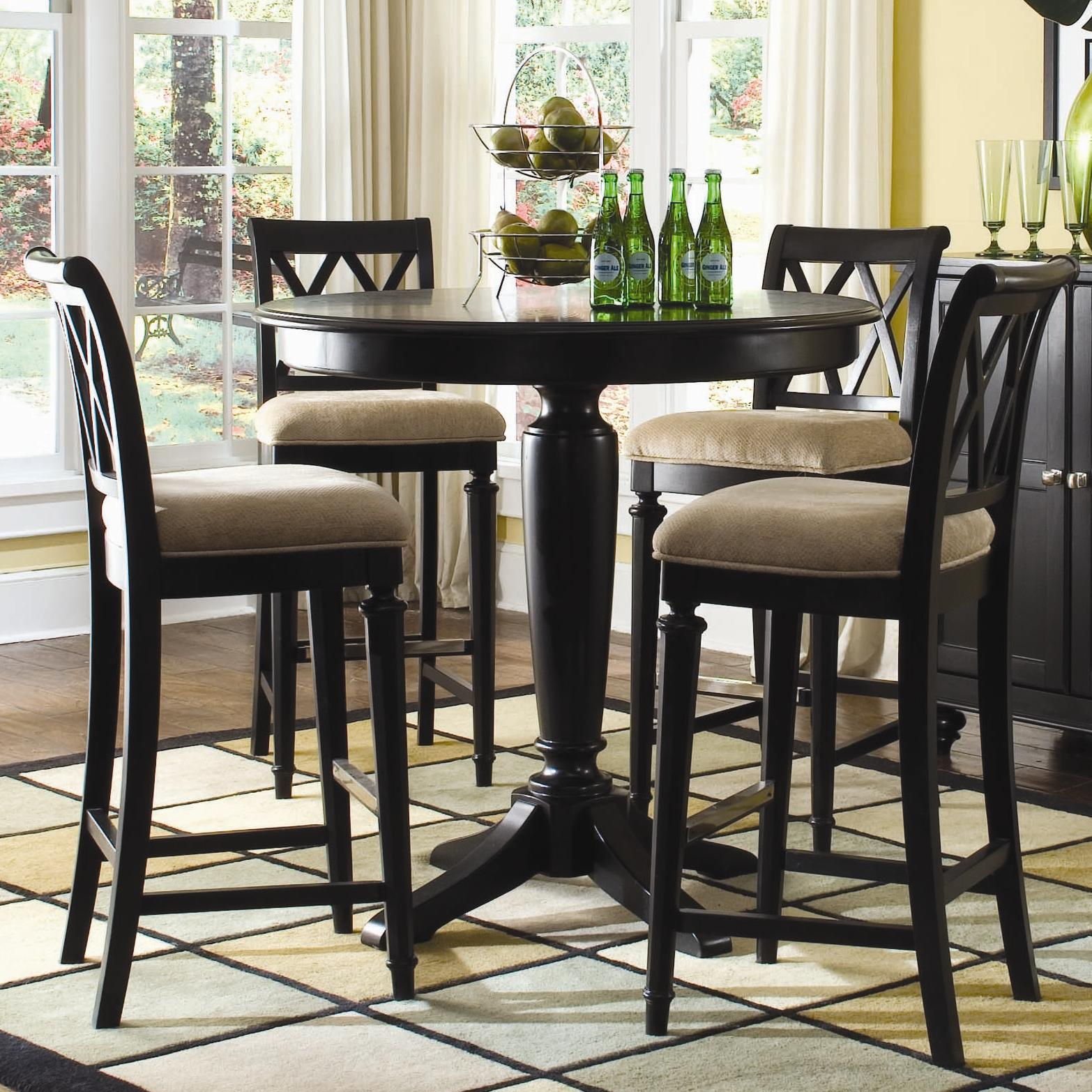 "42"" Round Bar Height Table by American Drew"