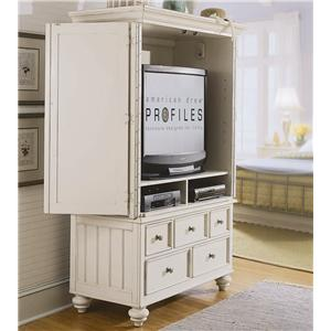 American Drew Camden - Light Armoire