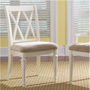 American Drew Camden - Light Splat Back Side Chair