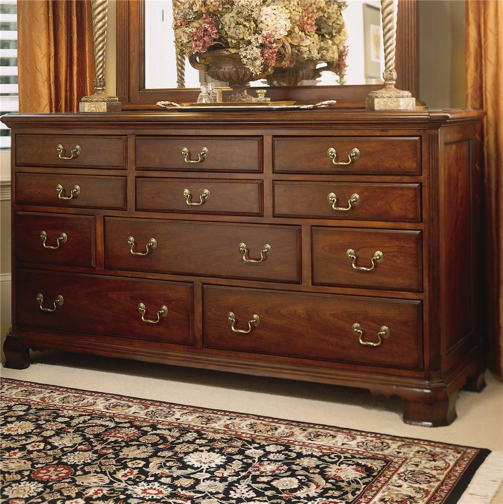 Triple Dresser With 11 Drawers By American Drew Wolf And Gardiner Wolf Furniture