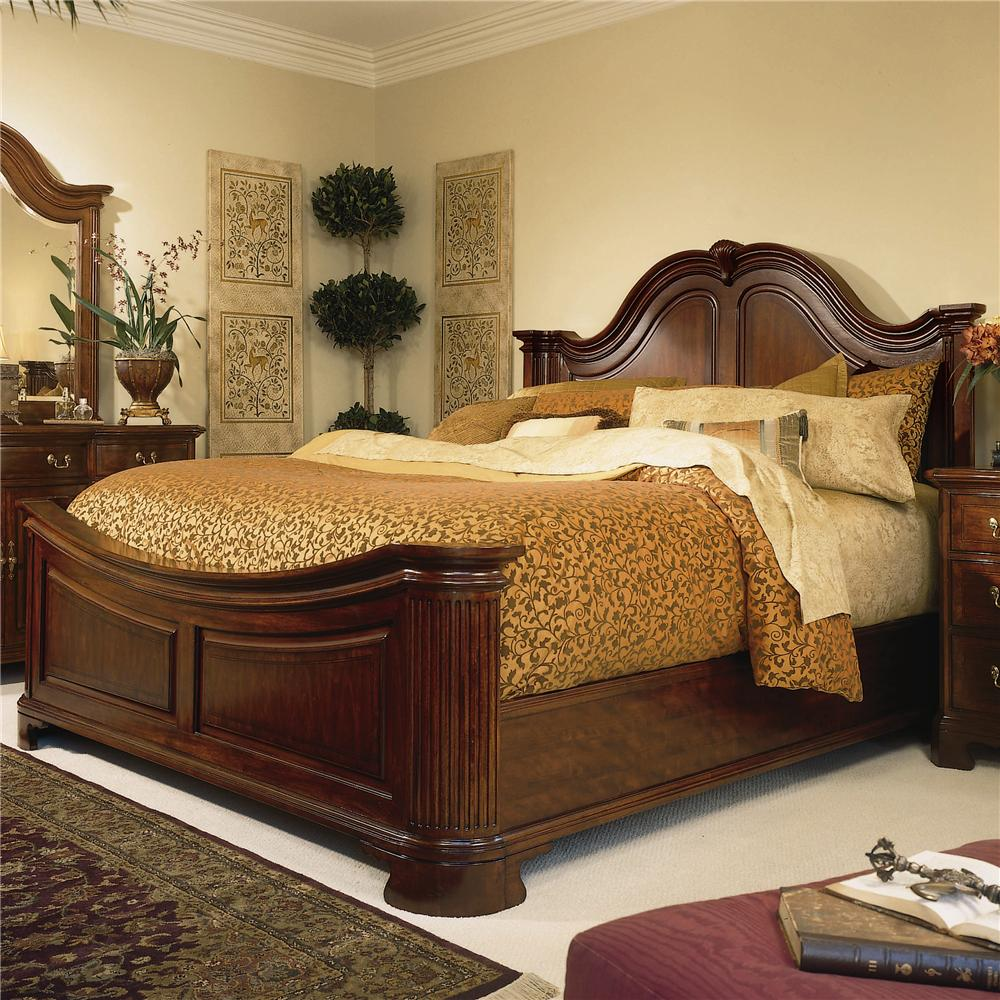King Traditional Mansion Bed By American Drew Wolf And