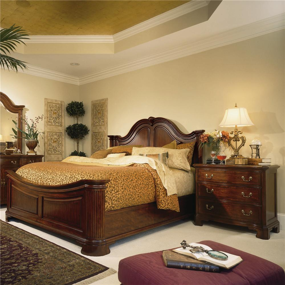 King Traditional Mansion Bed By American Drew Wolf And Gardiner Wolf Furniture