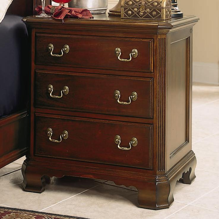 3 Drawer Night Stand By American Drew Wolf And Gardiner Wolf Furniture
