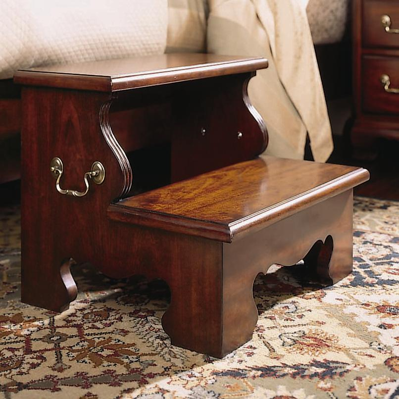 Traditional Two Step Bed Stool By American Drew Wolf And