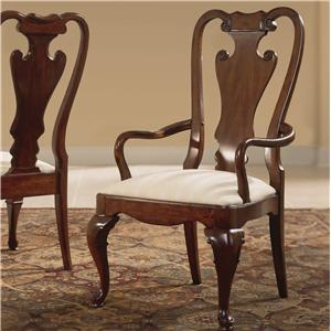 American Drew Cherry Grove 45th Splat Back Arm Chair