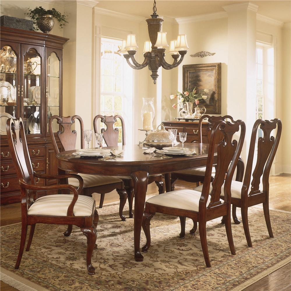 Oval Dining Room Sets traditional oval dining tableamerican drew | wolf and gardiner