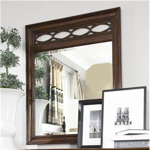 American Drew Cherry Grove Fret Mirror