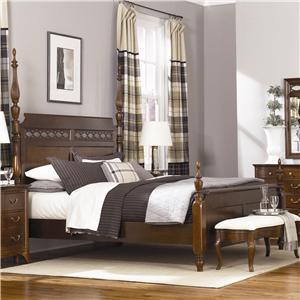 American Drew Cherry Grove Queen Poster Bed
