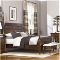 American Drew Cherry Grove Upholstered Bed Bench