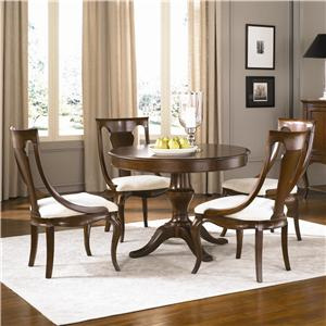 American Drew Cherry Grove Round Table with Chairs