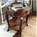 American Drew Cherry Grove Oval End Table - Item Number: 091-916