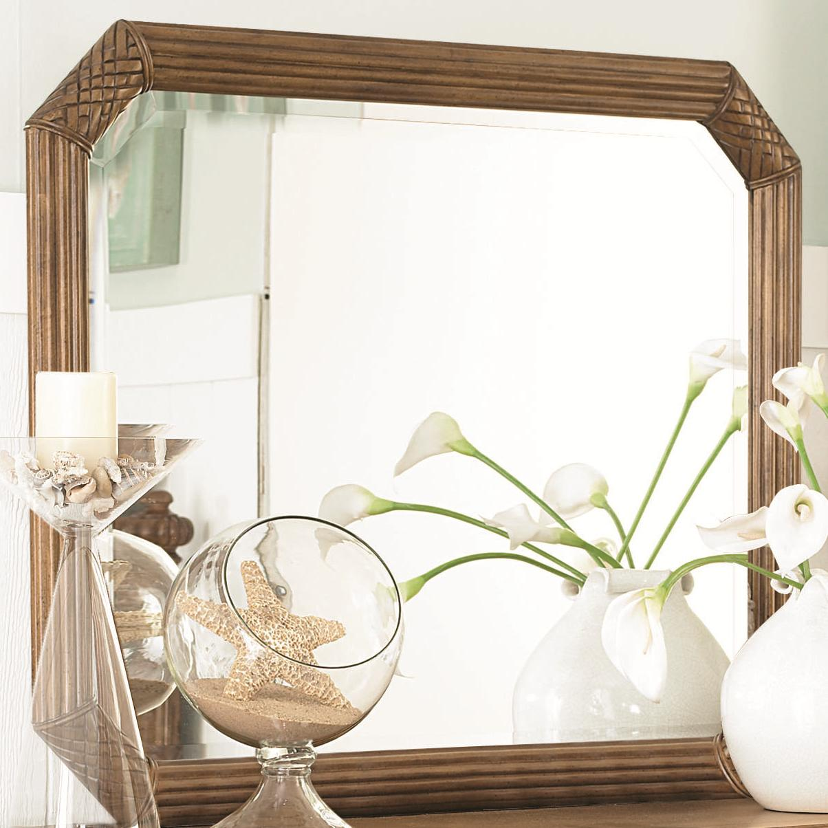 Vertical or Horizontal Landscape Beveled Mirror with Carved & Reeded ...